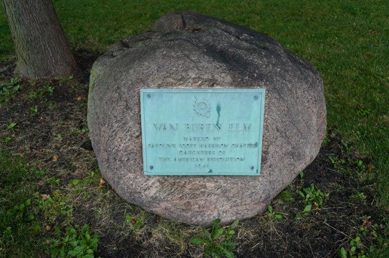 The Elm Tree Plaque