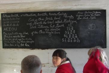 1840s school re-enactment.