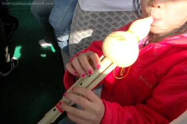 Laci and her flute from China
