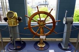 Ship's wheel.