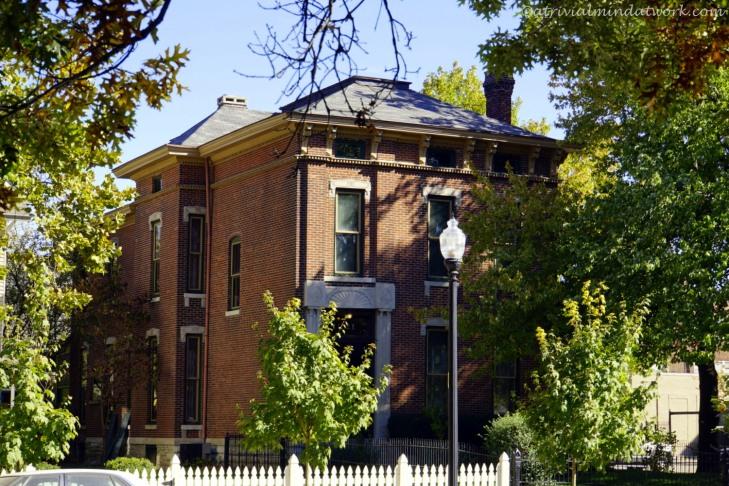President Benjamin Harrison home.