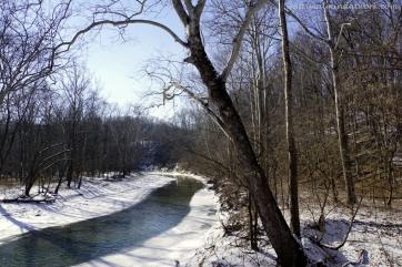 Big Walnut Creek downstream.